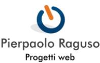 Progetti Web - Pierpaolo Raguso